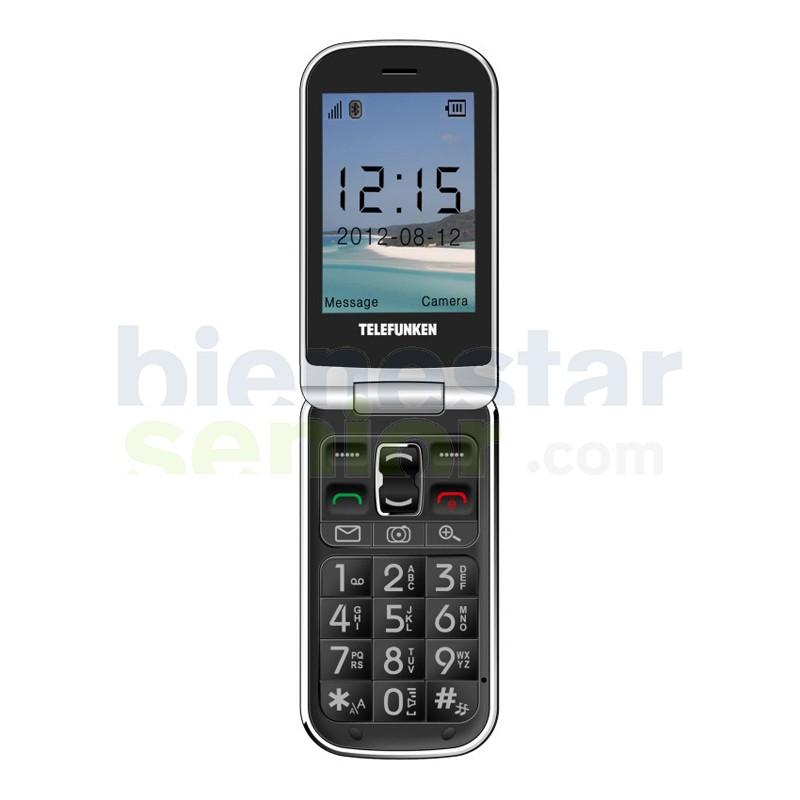 Teléfono Móvil con Tapa Telefunken TM200