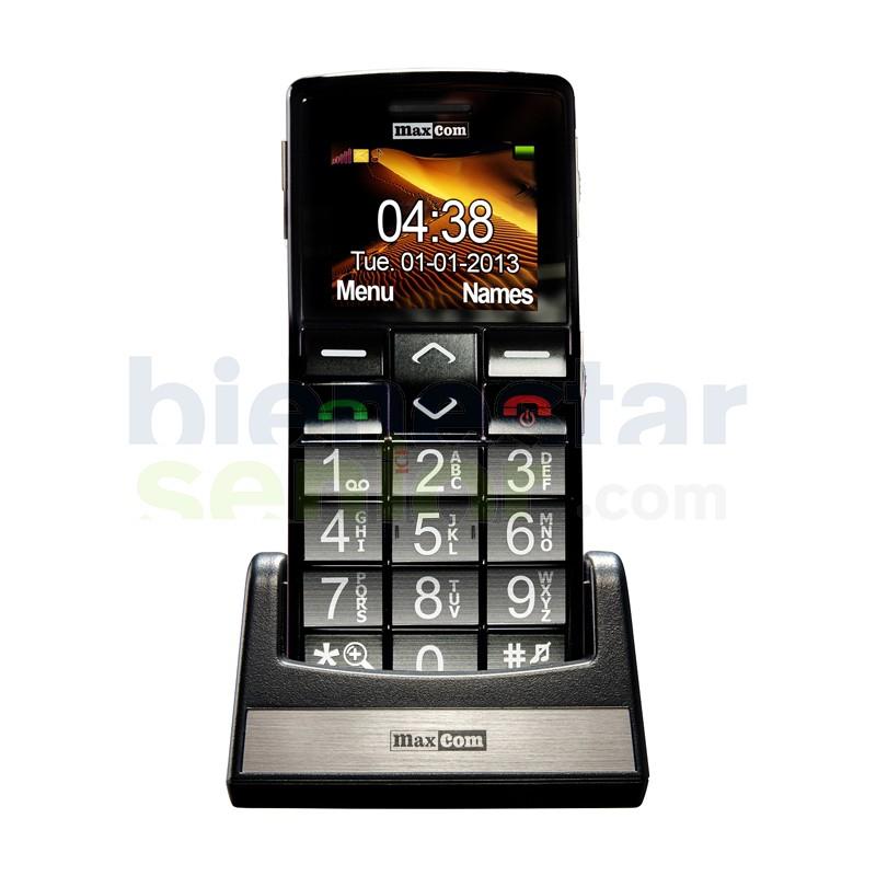 Maxcom MM705 - Teléfono Móvil Teclas Grandes
