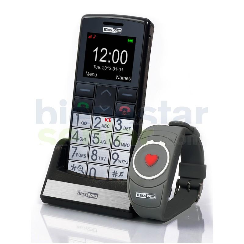 Maxcom MM715 - Teléfono Móvil Pulsera S.O.S.