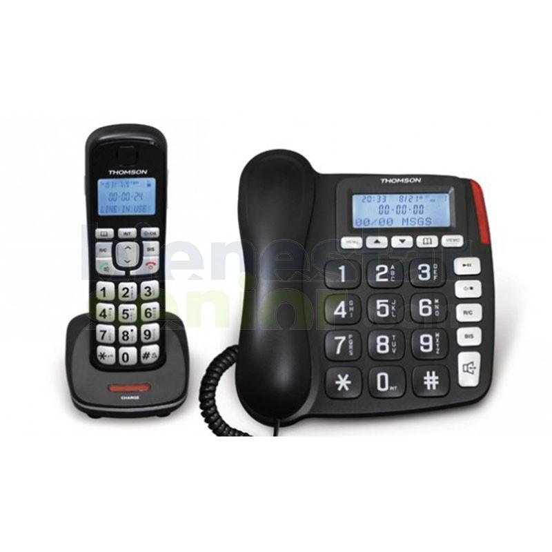 Teléfono Sobremesa + Inalámbrico