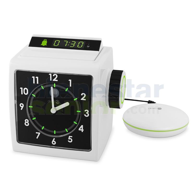 Reloj Despertador Números Grandes +Vibrador Almohada (Doro 333 cl)