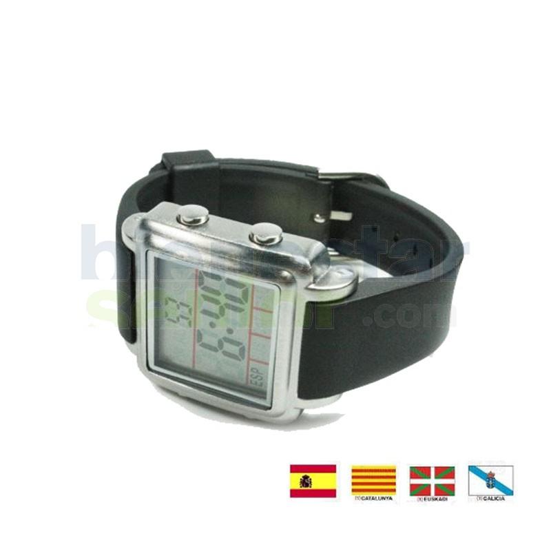 7b38ccd522f1 Reloj de Pulsera Parlante Digital -Caballero-