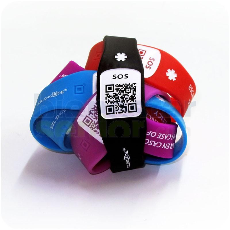 51481d960bca Pulsera de Identificación con Código QR