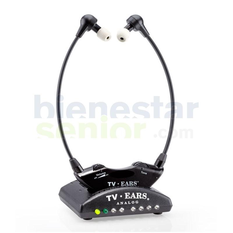 Auriculares TV Sonido Amplificado Nítido (TV-Ears 5.0 A)
