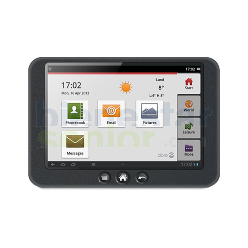Doro Experience - Aplicación Tabletas Interfaz Sencilla