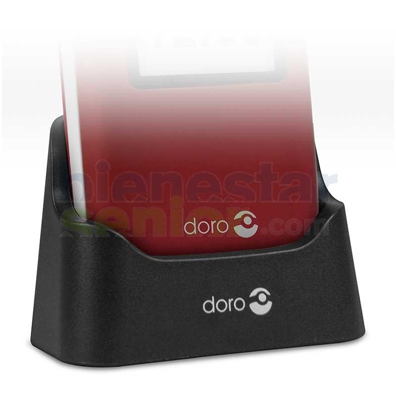 Doro 2424 - Base Dock Teléfono Móvil con Tapa