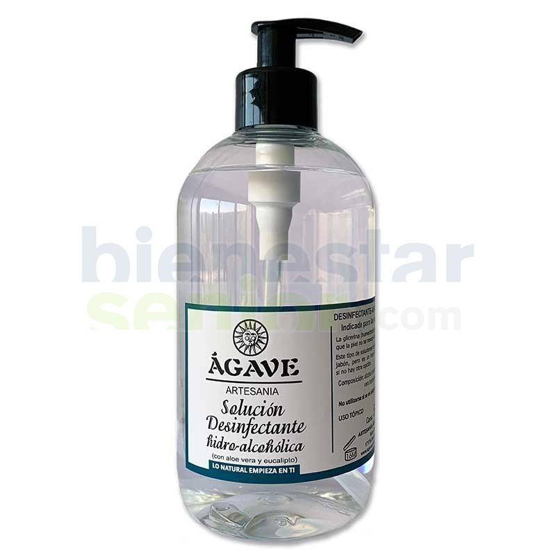 Limpiador Desinfección de Manos Natural 500ml