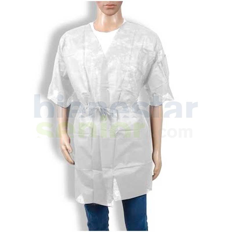 Bata Kimono Desechable Blanca