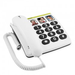 Doro PhoneEasy 331PH - Teléfono Teclas Grandes y Fotos