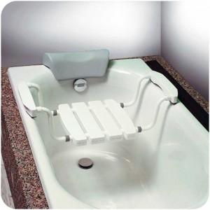 Asiento Bañera Ergonómico Aluminio