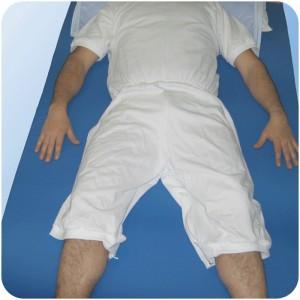 Pijama Manga Corta Cremallera Espalda