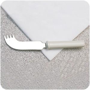 Cuchillo-Tenedor Ergonómico Versátil