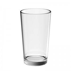 Vaso Extragrande Irrompible Transparente (6 uds.)