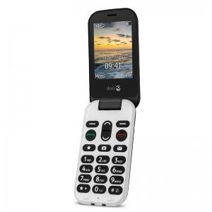 Doro 6060 - Teléfono móvil con tapa y localización GPS