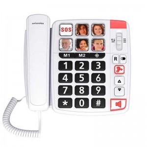 Swissvoice Xtra 1110 - Teléfono Amplificado Fototeclas
