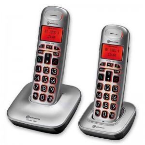 Teléfono Inalámbrico Amplificado DUO - amplicomms BigTel 1202