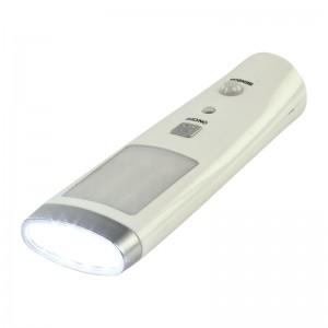 Lámpara Led Sensor y Linterna -Recargable-