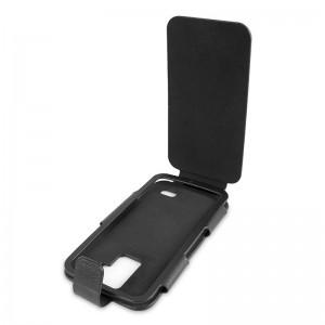 Doro Liberto 820 - Funda para Telefono Movil 'Flip' -Negra-