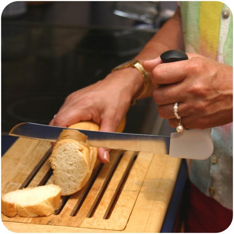 Cuchillo Pan con Mango Invertido