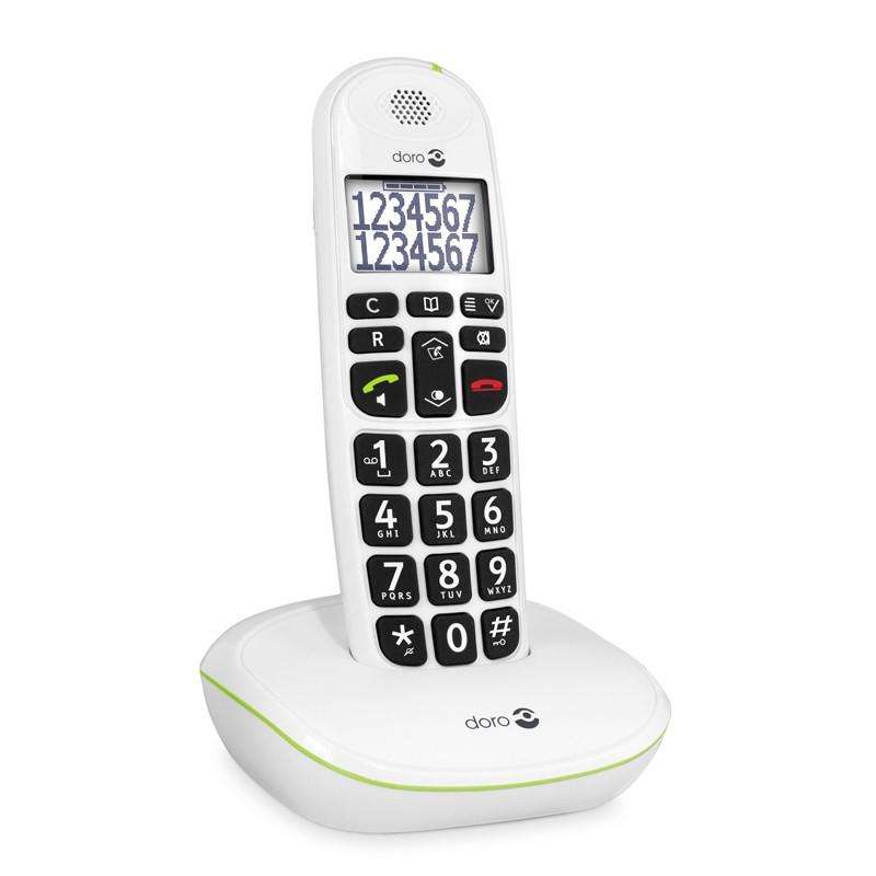 Doro PhoneEasy 110 - Teléfono Inalámbrico Teclas Parlantes