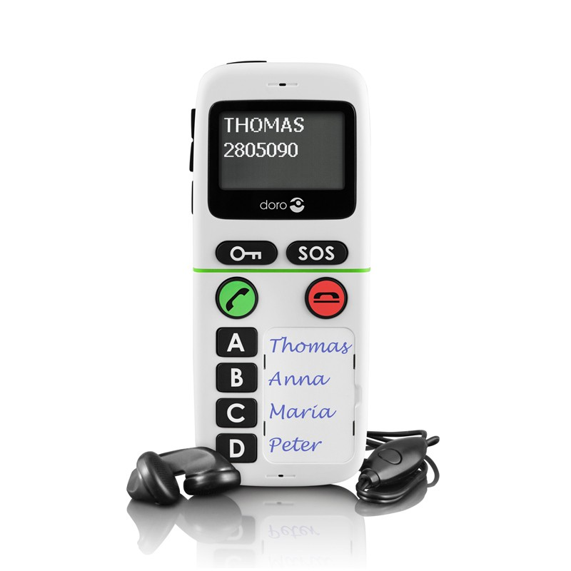 Doro HandlePlus 334 - Teléfono Móvil Teclas Predefinidas