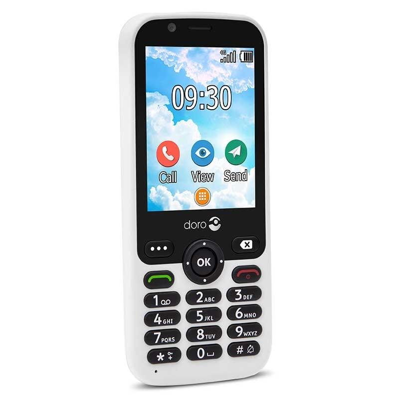 Doro 7010 - Teléfono Móvil Fácil, Internet, Whatsapp, Facebook