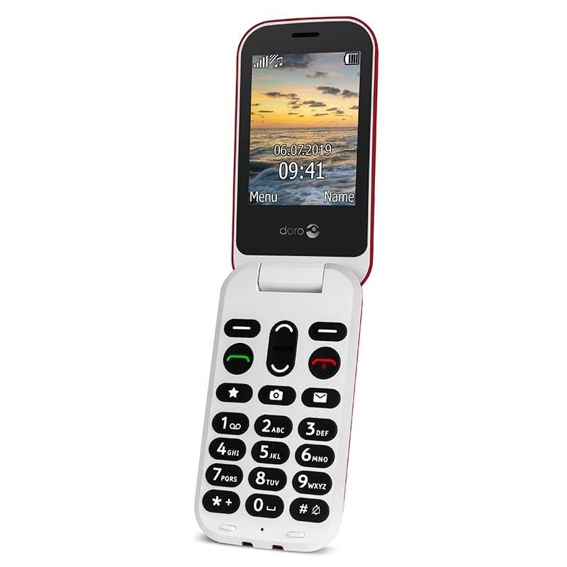 Doro 6040 - Teléfono móvil con tapa
