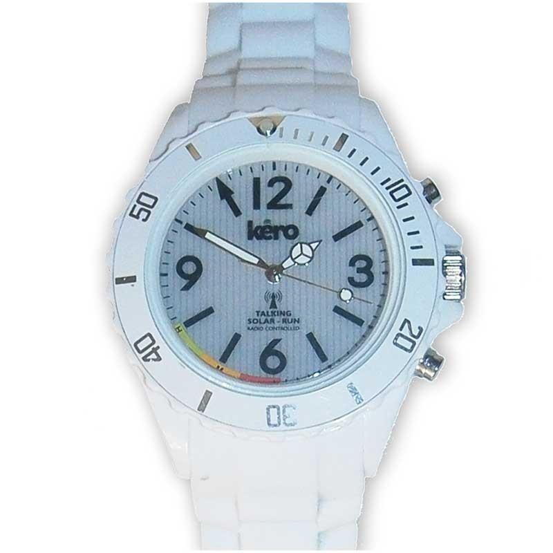 Reloj de Pulsera Parlante Hora Automática Solar