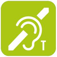Compatible con audífonos