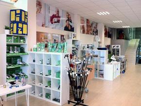 Showroom para presentación y formación del producto
