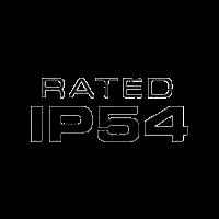 Certificación anti salpicaduras IP54