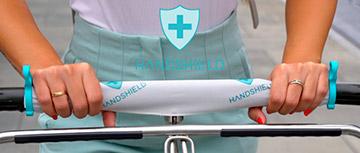 El primer escudo de manos único en el mundo para protegerte de cualquier virus o bacteria
