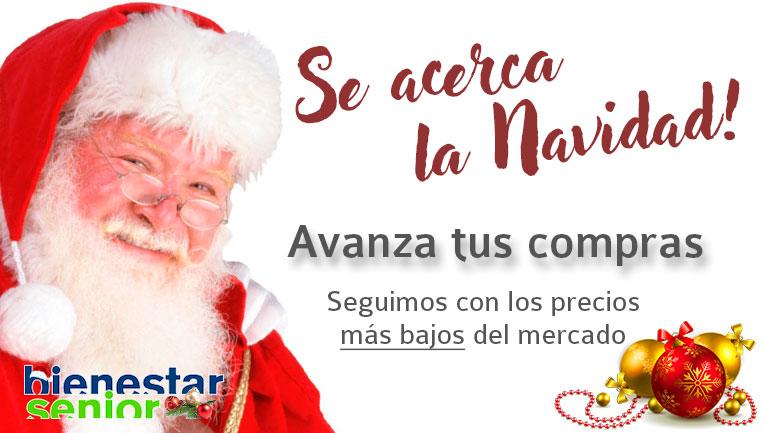 Avanzate a la Navidad en BienestarSenior.com