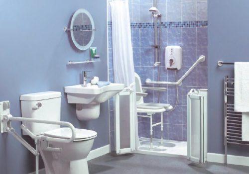 baño asistido